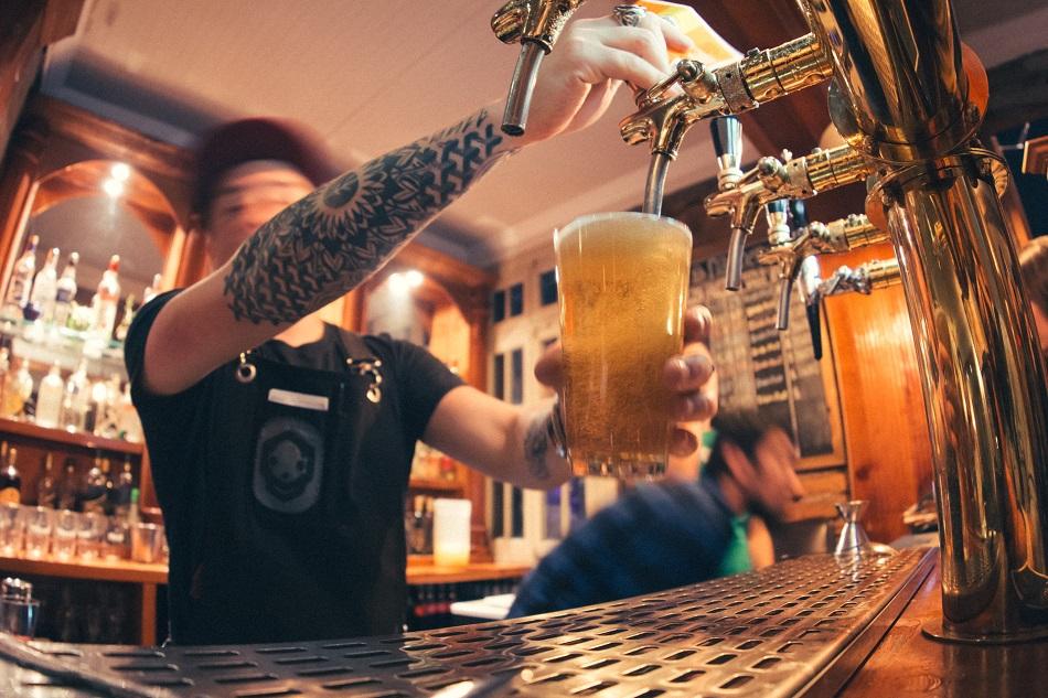 Cuántas burbujas tiene una pinta de cerveza